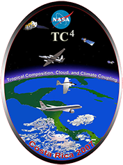 Tropical Composition, Cloud and Climate Coupling (TC4) project in Costa Rica